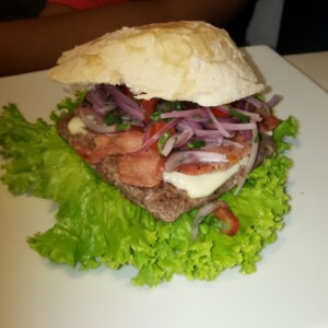 Hamburguesa Perú Mix