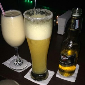 Smoothie de Mango y Tropical Beer
