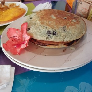 Pancakes de Blueberries