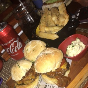 hamburguesa de Res sliders