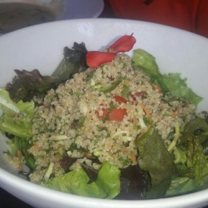 rosted quinoa salad