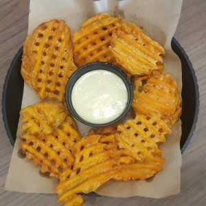 Sweet Potato Waffle Fries / Camote