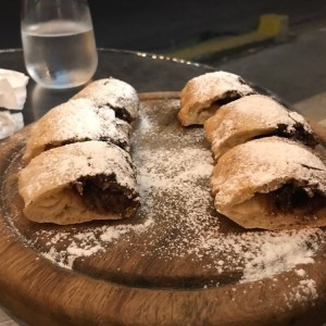 Rollo de nutella