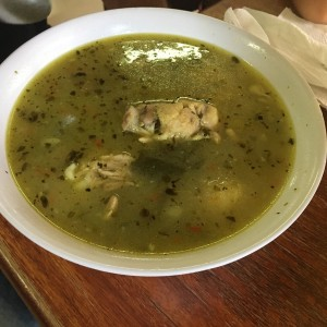 sancocho de gallina de patio
