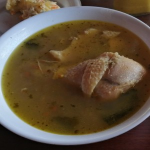 Sancocho de gallina