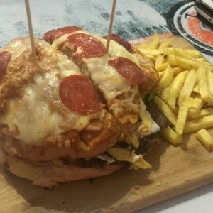 King Kong Pizza Burguer