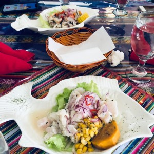 los ceviches