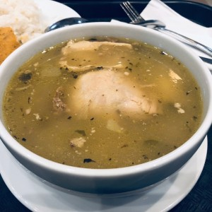 sancocho y arroz