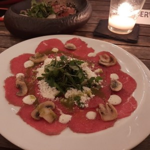 carpaccio ( super rico )