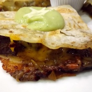 Beef Quesadillas! tasty!