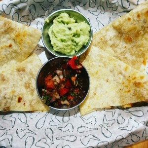 Quesadillas de pollo