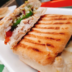 Paninis - Chicken Pesto