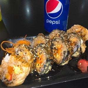 Hot Salmon Roll