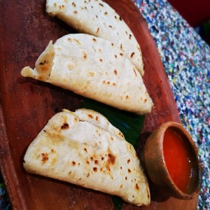 Tortillas con - Queso Chancol