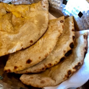 Indian Breads - Cheese Naan