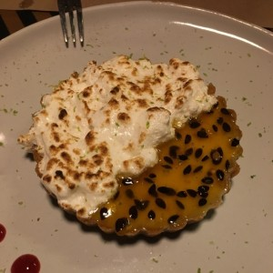 Postres - Tartaleta Lemon pie