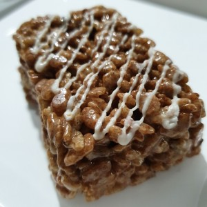 Rice Krispies treat de chocolate