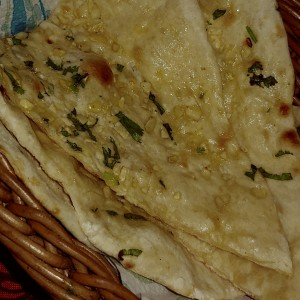 Pan - Garlic Naan