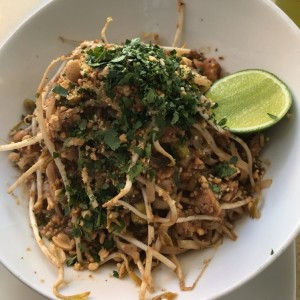 pad thaid de pollo