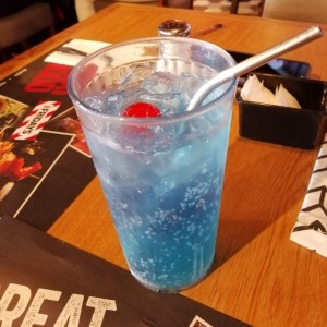 Drinks - Blue Raspberry Slush