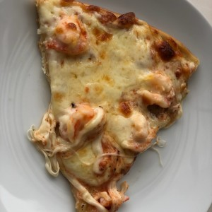 pizza de camaron