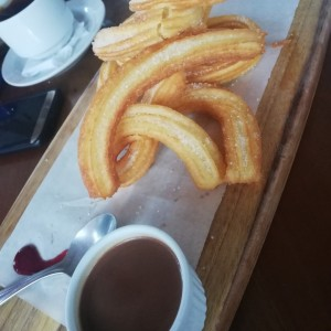 Postres - Churros y Chocolate