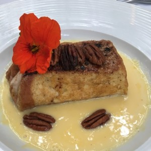 Postre - Bourbon french toast