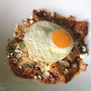 pork chilaquiles