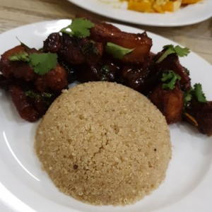 costillas don yaco con quinoa