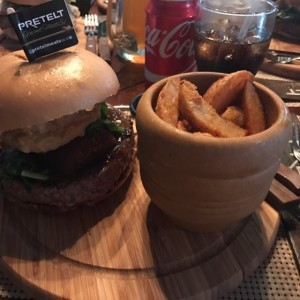 Pachos Burger Black Angus 10oz