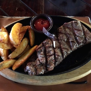 Montreal steak con papas