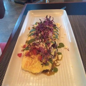 Omellete con Pulled Pork