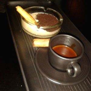 Coffee & Cigar - Postre