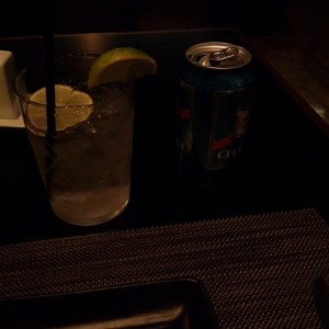Club Soda con Limon