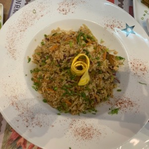 Imprescindibles arroces - Nasi goreng mixto
