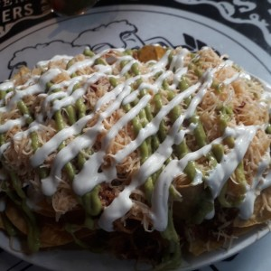 Finger Food - Cheesy nachos