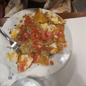 Nachos The Corner 76 Medianos