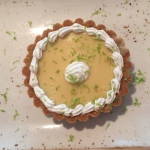 Postres - Key lime pie