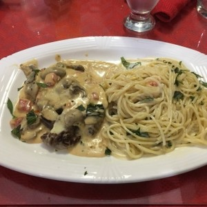 Filete Geatano con Pasta