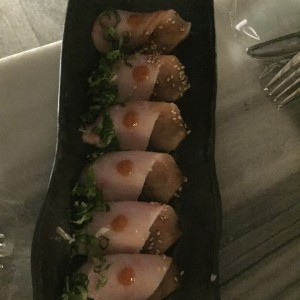 Crudos - Yellowtail tiradito
