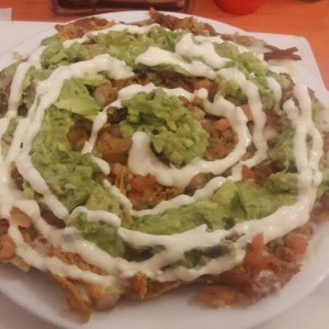 nachos mixtos especiales