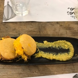 Duo de arepas - Brunch