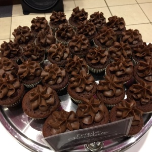 Cupcake triple chocolate