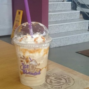 ice blended coffee caramel