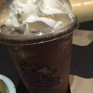 ice blended Dark Chocolate