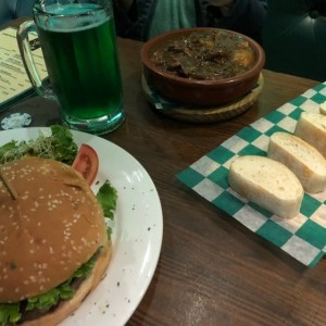 The Barney Burguer y el Irish Stew