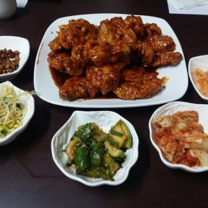 korean style wings