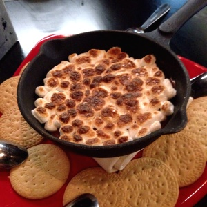 Postres - Nutella S'mores Skillet