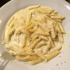 Penne tres quesos