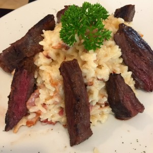 Angus beef with Risotto